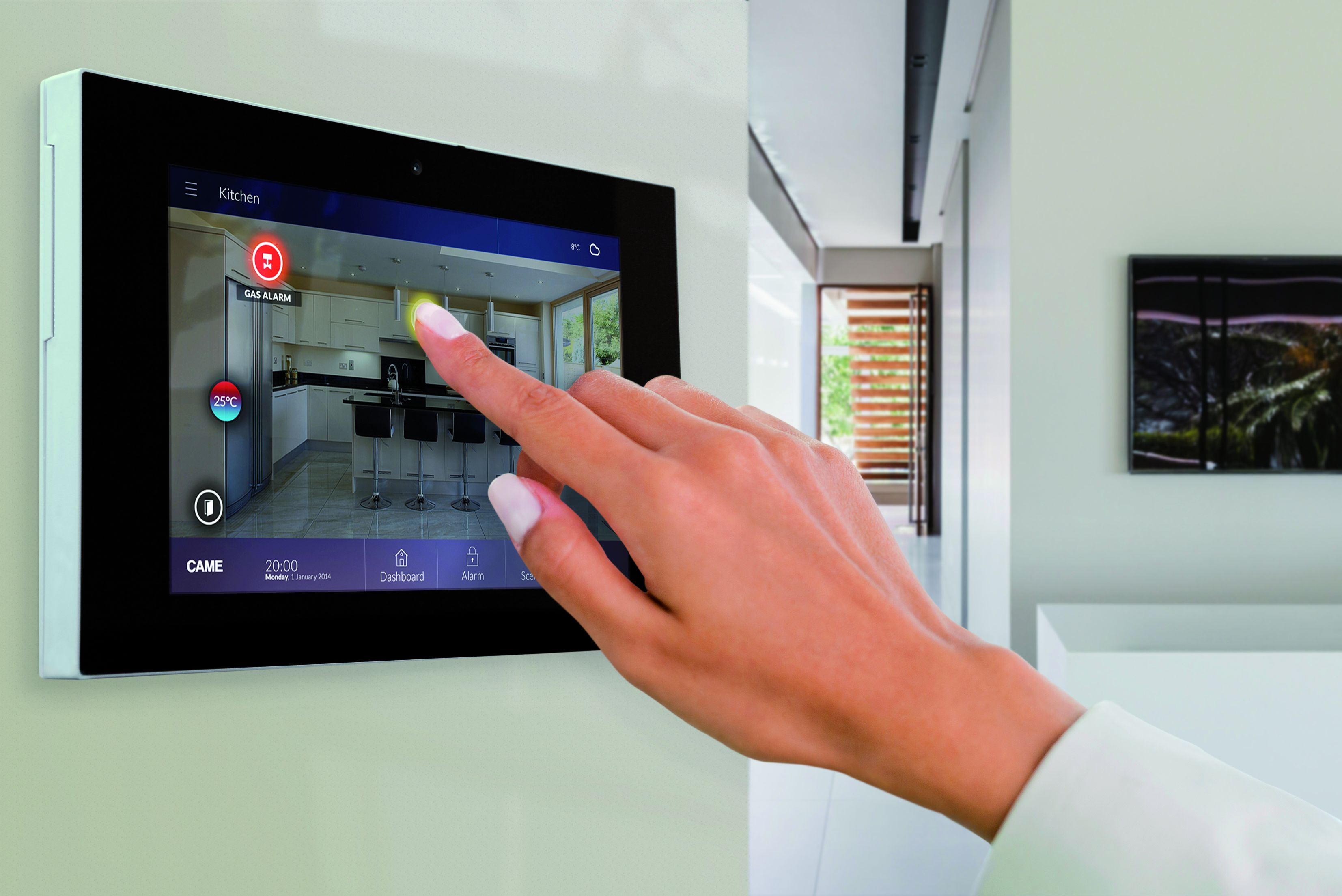 Schema Elettrico Per Domotica : Sistema domotico per il controllo globale della casa l impianto