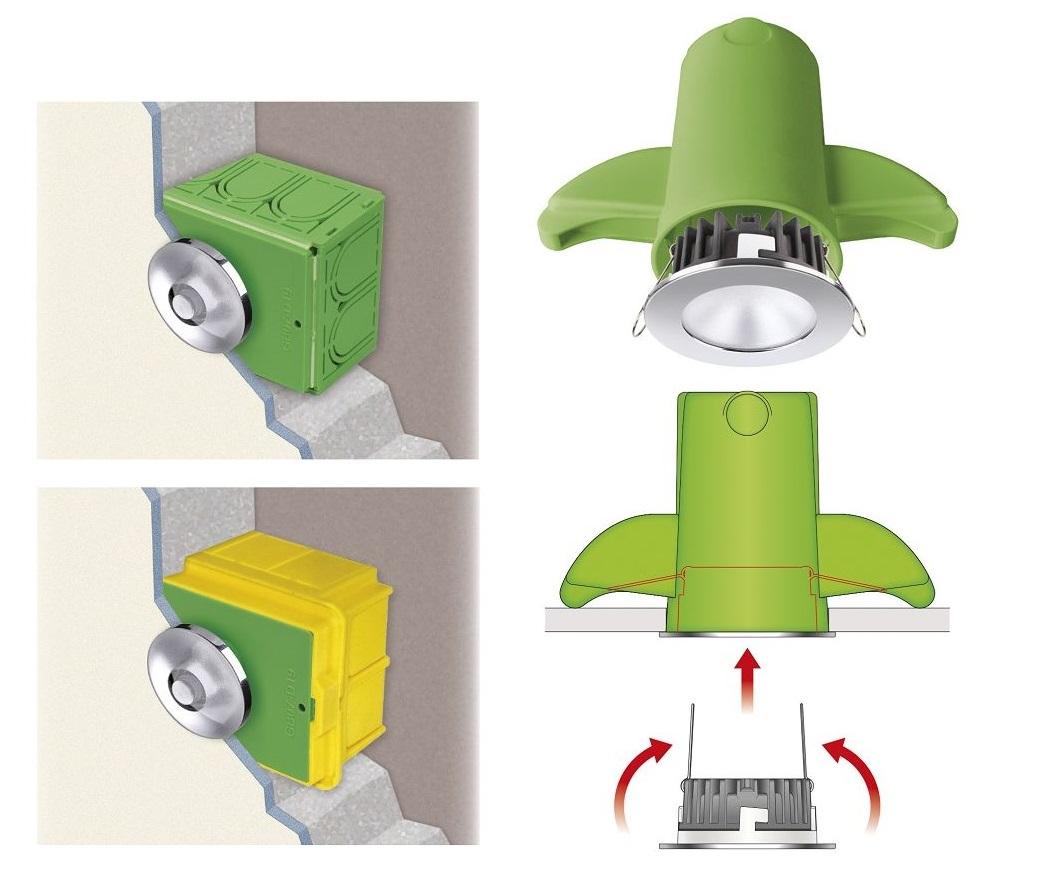 Accessori per installare i faretti da incasso - Watt Elettroforniture