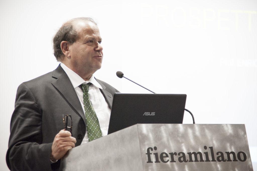 Il prof. Enrico Finzi, presidente Astra Ricerche