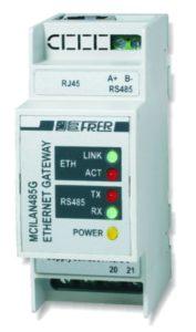 Il nuovo dispositivo per sistema di controllo e supervisione su rete Ethernet