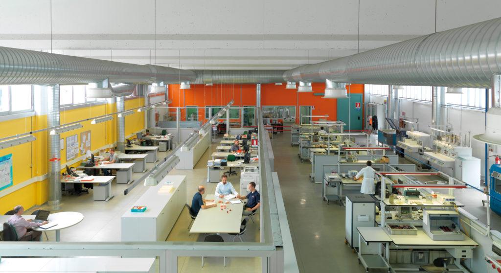 Un'immagine del Laboratorio Prove