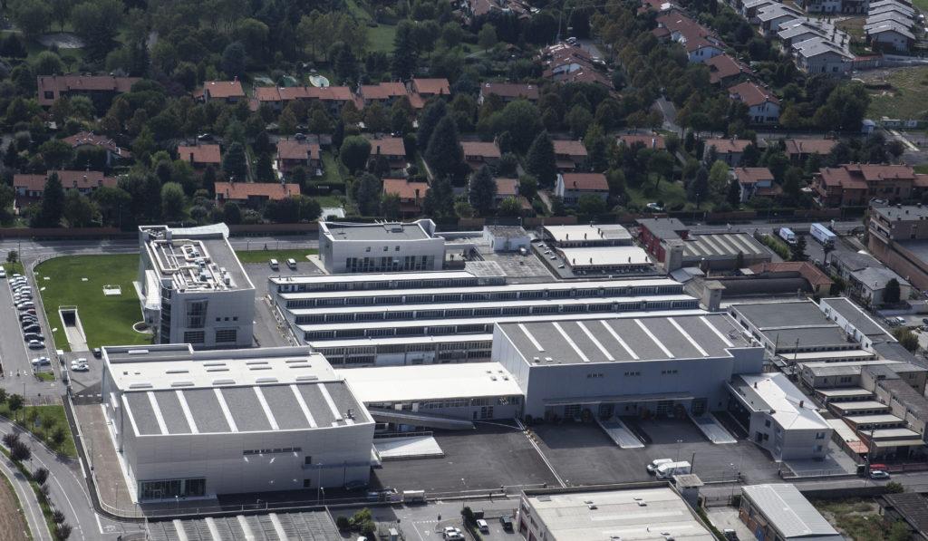 Gorle (BG): La sede di Lovato Electric, vista aerea